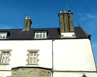 Roof of a Large house in Llangefni